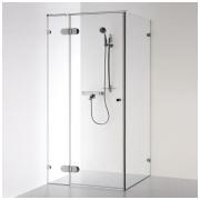 Baltijos Brasta kvadratinė dušo kabina Nora Plius 800x800