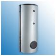 Dražice akumuliacinė talpa šildymo sistemai 1000 l su įmontuotu 140 l vandens šildytuvu NADO 1000/140 v2