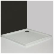 Roltechnik kvadratinis dušo padėklas Flat Kvadro 1000x1000
