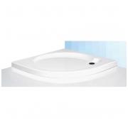 SaniPro pusapvalis dušo padėklas Dream Flat 800x800 8000284