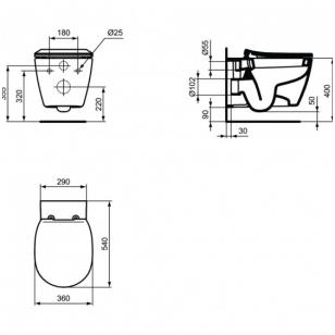 Viega potinkinis WC komplektas KOMP-VIEGA5