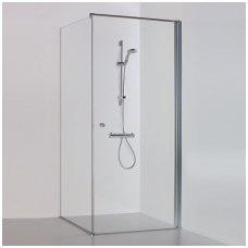 ltijos Brasta kvadratinė dušo kabina Kristina 1000x1000