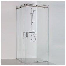 Baltijos Brasta kvadratinė dušo kabina Vesta 1000x1000