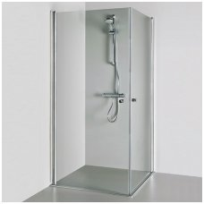 Baltijos Brasta kvadratinė dušo kabina Viktorija 1000x1000