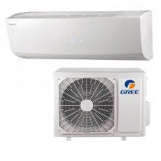 Gree šilumos siurblys oro kondicionierius GWH12QC-K6DNC2D/I-GWH12QC-K6DNA1D/O
