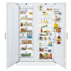 Liebherr įmontuojamas šaldytuvas su šaldikliu SBS 70I4 003 Premium