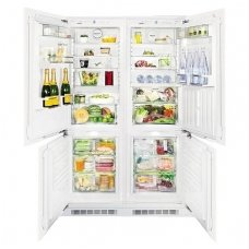 Liebherr įmontuojamas šaldytuvas su šaldikliu SBS 66I3 Premium