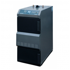 Nibe-Biawar plieninis kieto kuro katilas Optimax 18