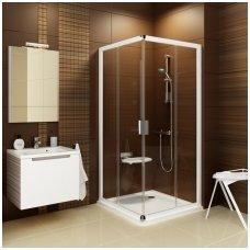 Ravak kvadratinė dušo kabina Blix BLRV2K+BLRV2K 1100x1100