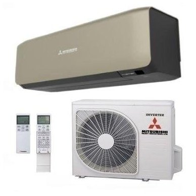 Mitsubishi Heavy Industries šilumos siurblys oro kondicionierius SRK/SRC25ZS-WT/B