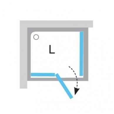 Ravak stačiakampė dušo kabina Brilliant BSDPS 1100x800 7