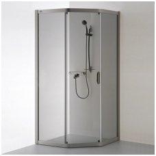Baltijos Brasta kampinė dušo kabina Vaiva 900x700
