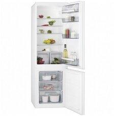 AEG įmontuojamas šaldytuvas su šaldikliu SCB51811LS
