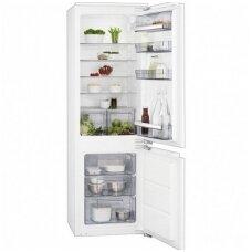 AEG įmontuojamas šaldytuvas su šaldikliu SCB61821LF