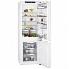 AEG įmontuojamas šaldytuvas su šaldikliu SCE81811LC