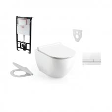 Alca Plast / Ravak potinkinis WC komplektas