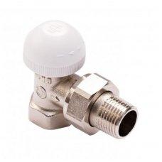 """Armatura kampinis termostatinis ventilis radiatoriui 1/2"""" 752-160-07"""