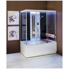 Balteco dušo kabina-garinė pirtis-masažinė vonia Vario