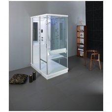Balteco dušo kabina-garinė pirtis Tetris