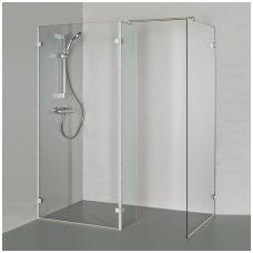 Baltijos Brasta stačiakampė dušo kabina Bona 1400x900