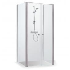 Baltijos Brasta kvadratinė dušo kabina Erika Plius 1000x1000