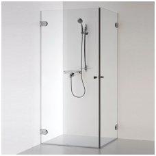 Baltijos Brasta kvadratinė dušo kabina Liepa 900x900