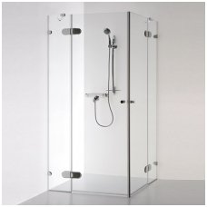 Baltijos Brasta kvadratinė dušo kabina Liepa Plius 900x900