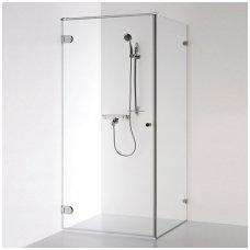 Baltijos Brasta kvadratinė dušo kabina Nora 1000x1000