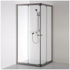Baltijos Brasta kvadratinė dušo kabina Rasa 800x800