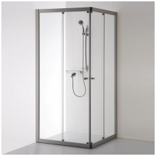 Baltijos Brasta kvadratinė dušo kabina Rasa 900x900