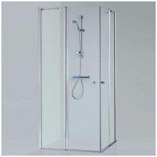 Baltijos Brasta kvadratinė dušo kabina Sima 1000x1000