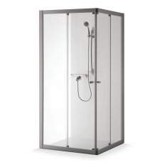Baltijos Brasta uždara dušo kabina Rasa Boksas 1000x1000