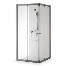 Baltijos Brasta uždara dušo kabina Rasa Boksas 900x900