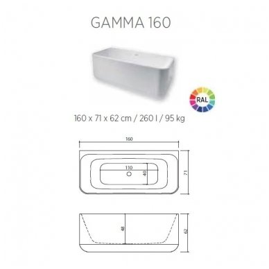 Balteco vonia Gamma 160 3