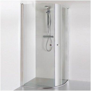 Baltijos Brasta pusapvalė dušo kabina Katarina 900x900 2