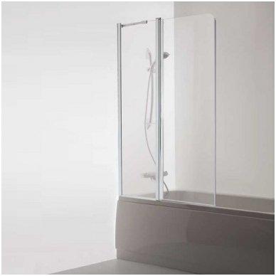 Baltijos Brasta vonios sienelė Maja Plus 800