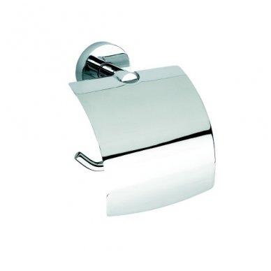 Bemeta WC popieriaus laikiklis su dangteliu Omega 104112012