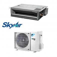 Daikin šilumos siurblys oro kondicionierius iki 150PA SkyAir FBA100A + RZAG100NY1