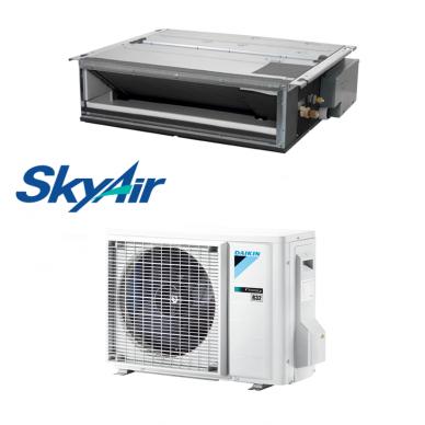 Daikin šilumos siurblys oro kondicionierius iki 40PA SkyAir FDXM25F9 + RXM25R9