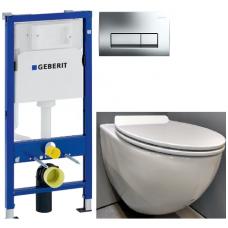 Geberit potinkinis rėmas + Duravit WC