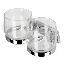 Geesa dvi stiklinės su laikikliu Standard 917163