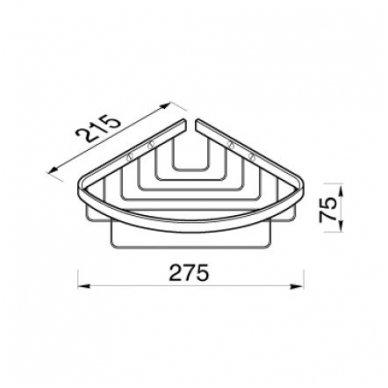 Geesa dušo krepšelis Basket 91182 2