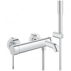 Grohe maišytuvas voniai/dušui su dušo komplektu ESSENCE NEW 33628001