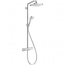 Hansgrohe dušo komplektas su termostatiniu maišytuvu Croma E Showerpipe 280 1jet
