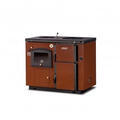 Kalvis centrinio šildymo katilas-viryklė K-4AB