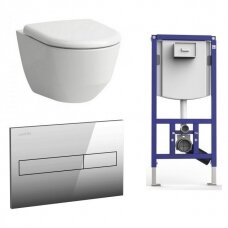 Laufen potinkinis WC komplektas