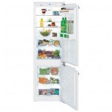 Liebherr įmontuojamas šaldytuvas su šaldikliu ICBN 3314 Comfort
