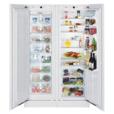 Liebherr įmontuojamas šaldytuvas su šaldikliu SBS 61I4-22 Premium Plus