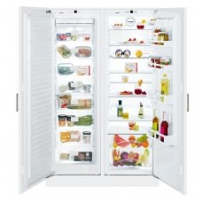 Liebherr įmontuojamas šaldytuvas su šaldikliu SBS 70I2 Comfort
