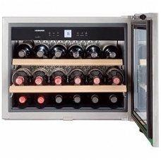 Liebherr įmontuojamas vyno šaldytuvas-rūsys WKEes 553 GrandCru